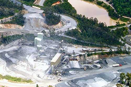 Controle de vibração na mineração