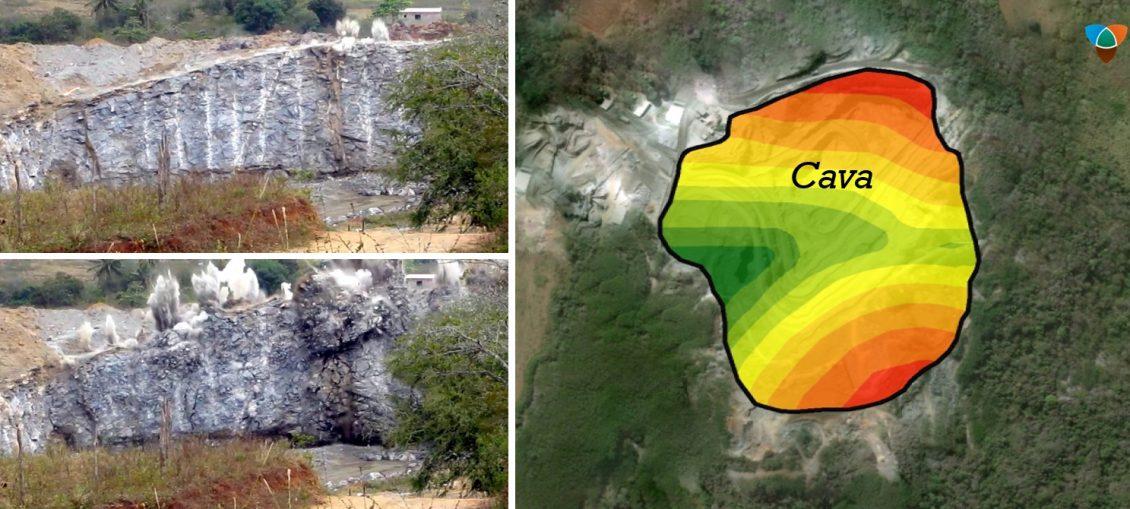 modelagem no controle de vibração de desmontes de rocha